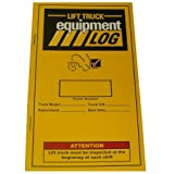 IRONguard 70-1065-1 Replacement Lift Truck Log Book for Electric Counterbalance