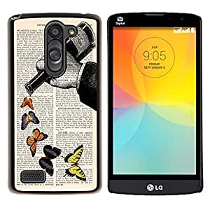 Dragon Case - FOR LG L Bello L Prime D337 - fly by yourful - Caja protectora de pl??stico duro de la cubierta Dise?¡Ào Slim Fit