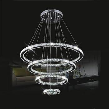 lightinthebox led crystal chandelier lihting transparent crystal