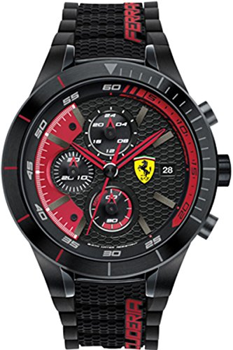 Ferrari Mens Analog Dress Quartz Watch NWT 0830260