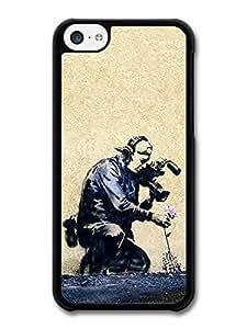Diy TRDJGOO Banksy Street Art at Sundance case for iPhone 5C