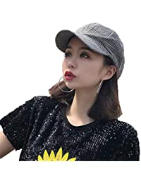 f42529eb414c6 Newsboy Cap French Beret Wool Solid Color Womens Beanie Cap Hat Elastic