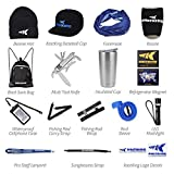 KastKing Inner Circle Fishing Fan Club Fishing Gear Combo Includes Back Sack Bag, Baseball Cap, Rod Sleeve, Rod Carry Strap, LED Flashlight, Insulated Cup plus More Fishing Gear - Over 16 Great Items
