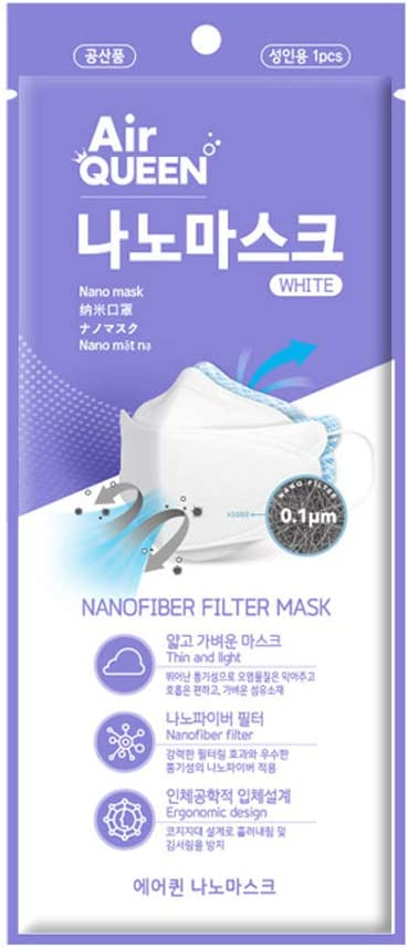 Korean AirQueen Nano Mask (for adult,10p)