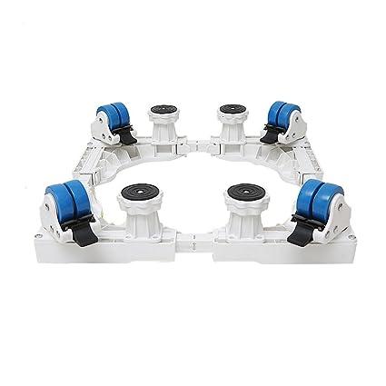 LXFBX Máquina para el hogar Base Plegable Base multifunción Lavadora de Plataforma, refrigerador 360 Grados
