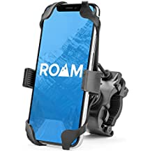 Roam Universal Premium Bike Phone Mount for Motorcycle - Bike Handlebars, Adjustable, Fits iPhone X, XR, 8 | 8 Plus, 7 | 7 Plus, iPhone 6s | 6s Plus, Galaxy, S9, S8, S7, Holds Phones Up to 3.5
