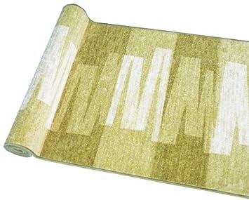 80x100 cm Ta-Bo Lifestyle L/äufer Teppich Br/ücke Teppichl/äufer Veneto 80 cm breit braun
