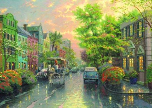 Schmidt Spiele Kinkade, 58447 - Thomas Kinkade, Spiele In Charleston, 1000 Teile Puzzle 7e7f19