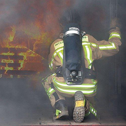 HAIX Herren Feuerwehrstiefel Fire Hero 2 schwarz, UK 8.5 / EU 43
