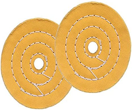 SCOTTCHEN 4 Inch Flannel Polishing Buffing Wheels Ultra Soft 30Ply Thick With 1//2 Arbor Hole for Drills 2Pack