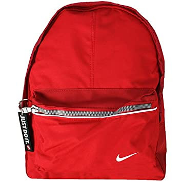 d7939ff1e95 NIKE FUNDAMENTALS JDI MINI BACKPACK BA2843-642 (ONE, RED WHITE)   Amazon.co.uk  Luggage