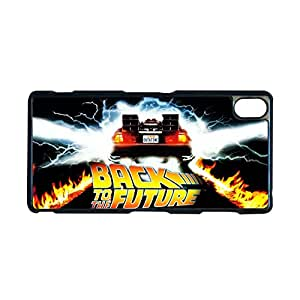 Custom Phone Case For Girls For Sony Xperia Z3 Print With Back To The Future Choose Design 1