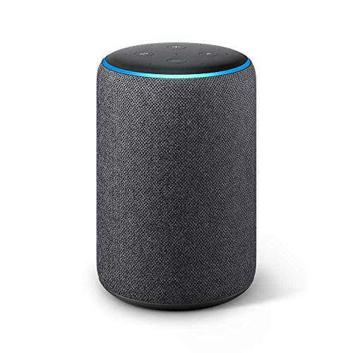 Echo Plus (2nd Gen) - Premium sound with built-in smart home hub - Charcoal ()
