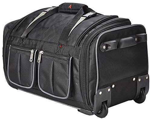 athalon-luggage-34-inch-15-pocket-duffel-bag-black