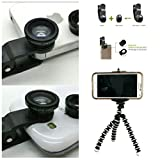 Arbitron Global lenskit27 Photo Lens Kit, Includes Tripod, Phone Clip and 3 Photo Lens(Fish Eye, Macro and Wide Angle Combo), Works with iPhone, iPad, Samsung, HTC and Other Smartphones