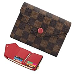HIGH QUALITY MATERIAL: It is crafted from two contrasting colors of soft Monogram Flowers leather, while its characteristic zip pull and press-stud closure have been transformed into Monogram Flowers. The flap opens to reveal a practical and ...