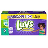 Health & Personal Care : Luvs Ultra Leakguards Diapers, Size 6, 72 Count