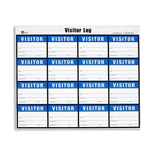 Visitor Secure Log-in - Refill Pages - 160 Badges ()