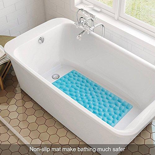 Rubber Bathroom Mats: OTHWAY Non-slip Bathtub Mat Soft Rubber Bathroom Bathmat