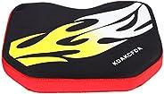Kayak Canoe Support Thicken Soft Cushion Antiskid Cushiony Base Pad Accessory(Flame)