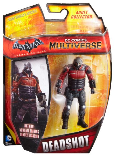 DC Comics Multiverse Batman Arkham Origins Deadshot Figure