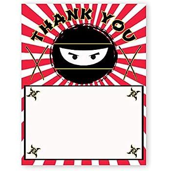 Amazon.com: Karate Kick, Blank Card Invitation Pack, 15 ...
