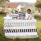 Burt's Bees Baby - Fitted Crib Sheet, Boys & Unisex 100% Organic Cotton Crib Sheet For Standard Crib and Toddler Mattresses