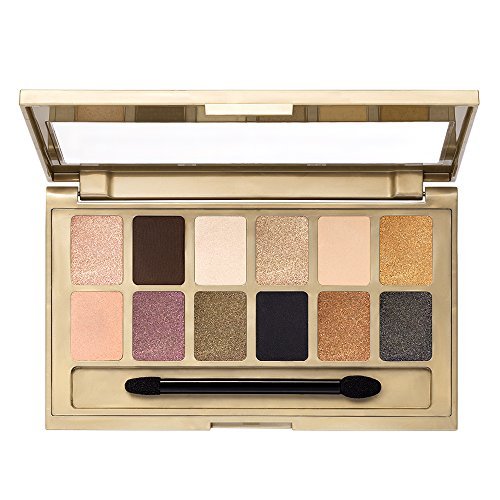 Maybelline Makeup The 24K Nudes Eyeshadow Palette, 12 Shade Shadow Palette, Gold Eyeshadow 0.34 oz