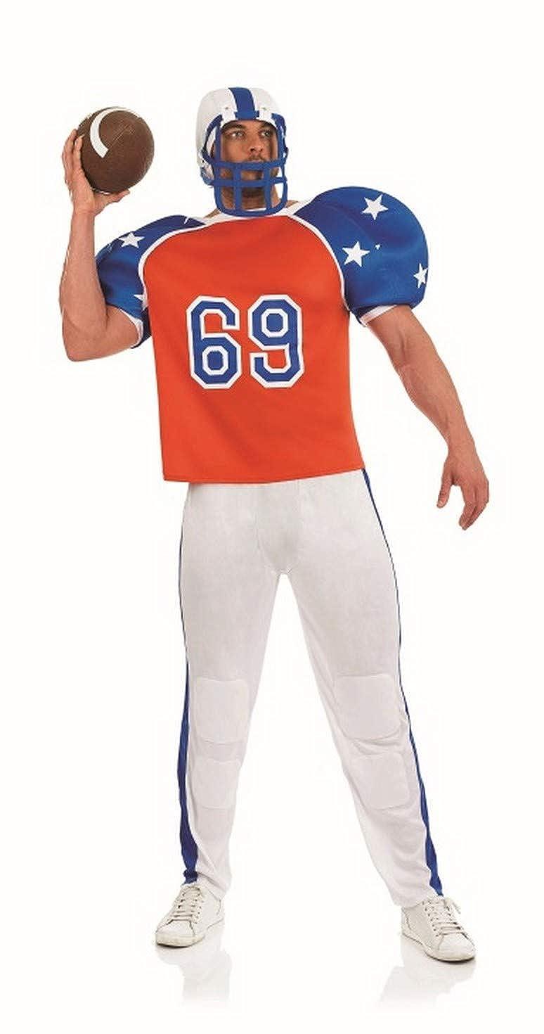 Amazon Com Fun Shack Mens American Football Costumer Adults