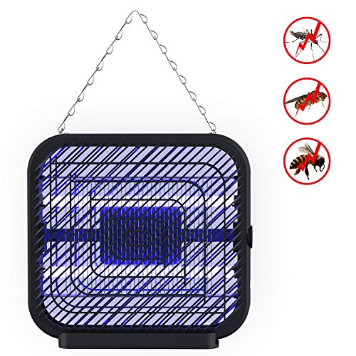 DOUHE UV Light Electronic Bug Zapper, Fly Killer, Mosquito Insect Zapper, Bug Trap Wall-Mounted with 1200 sq. ft Large Coverage Area for Indoor Outdoor Home Garden Patio Porch