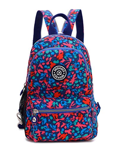 Resistant Light Chest Black Water Blue Bag Small Sling Leopard Backpack Girls Nylon Tianhengyi wSHUxOtq