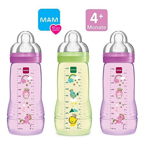 Mam Bouteilles Bouteilles Easy Active Baby Bottle Set Girl//3 X Baby Bottle 330 Prix De Rue
