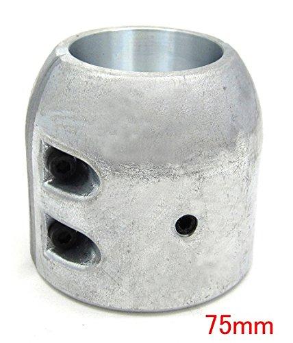 シャフト亜鉛 ロングタイプ 割型 75mm プロペラ亜鉛