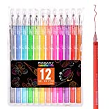 Diamond Head Color Fine Line Gel Pen Beautiful design shape, attractive and eye-catching appearance; Practicability and its ultra quality, these pens write beautifully with smooth, consistent ink flow; acid-free ink applies to both light and ...