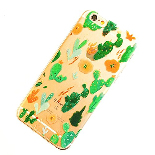 iPhone 5 / 5S / SE , Glossy Hard Case Bumper for Apple Clear Cover - watercolor pineapple flamingo - Hut Cactus