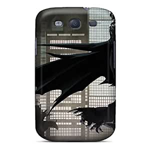 Top Quality Protection Batman Gotham Case Cover For Galaxy S3 by icecream design