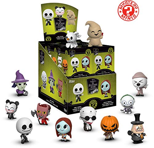 Halloween Mystery Boxes (Funko Mystery Mini: Nightmare Before Christmas 25th Anniversary Collectible Figure,)