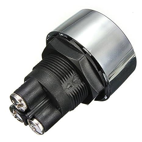 Universal Motor Auto Illuminated Push Button Engine Start Starter Switch ILS