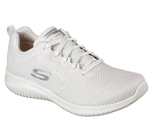 Skechers Donne Ultra-free Flex Spirito Sneaker Naturale