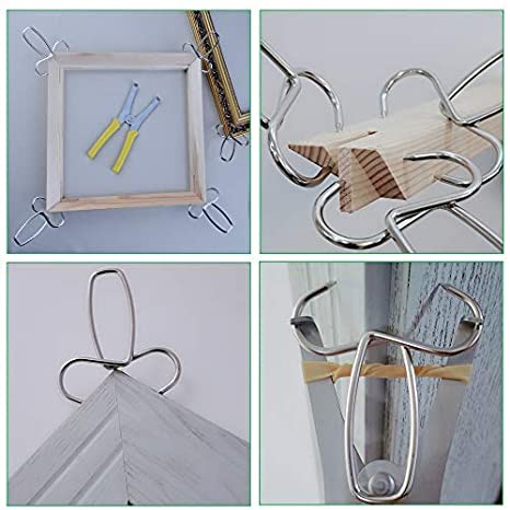 Feiyang Miter Spring Clamps Kit for Woodworking//Picture Frames//Wood Trim//Moldings 8 Pack of 2.0VERSION