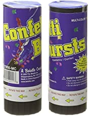 Beistle 57900-MC Confetti Bursts, 2-Pack