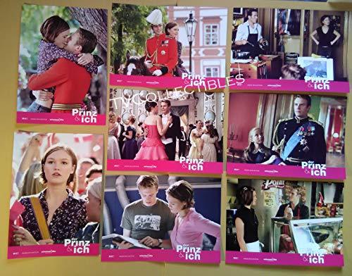 Lobby Card Set~ The Prince and ME ~2004 ~Julia Stiles ~Luke Mably ~Ben Miller (Miller Stil)