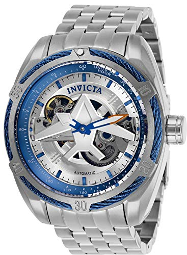 Invicta Aviator Reloj de Hombre automático Correa y Caja de Acero 28208: Amazon.es: Relojes