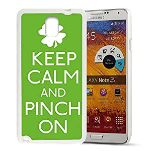 FUNNY DIY KEEP CALM AND PINCH ON Pattern HD Durable Hard Plastic Case Cover for Samsung Galaxy Note 3