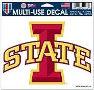 Wincraft NCAA Iowa State University Multi-Use Colored Decal, 5-Inchx6-Inch