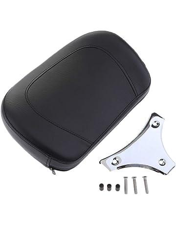 Sharplace Staffa Di Montaggio Cuscino Schienale Sissy Bar Con Pad Cuscino Per Moto Argento