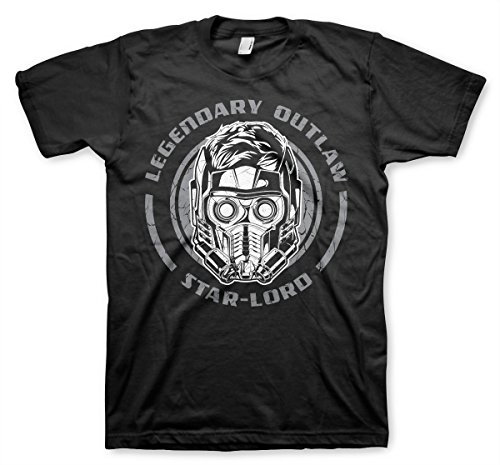 Star-Lord - Legendary Outlaw Official T-Shirt (Black)