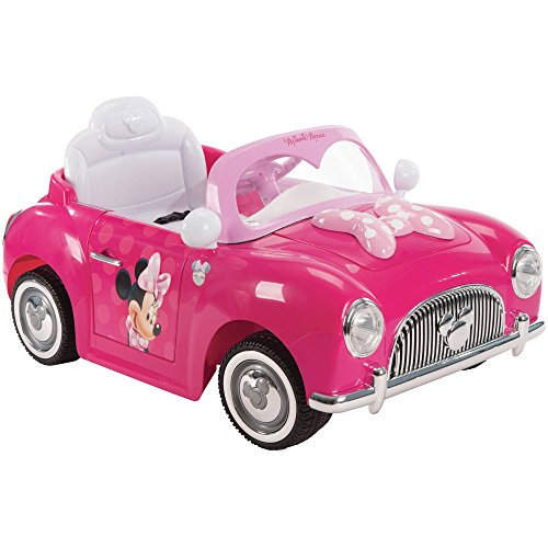 (Minnie Convertible 6V Battery-Powered Huffy Ride-On)