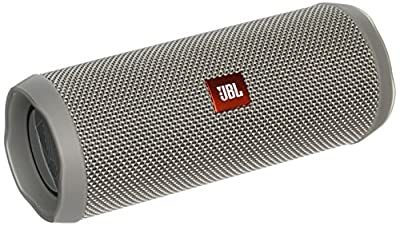 JBL Flip 4 Waterproof Portable Bluetooth Speaker (Grey)