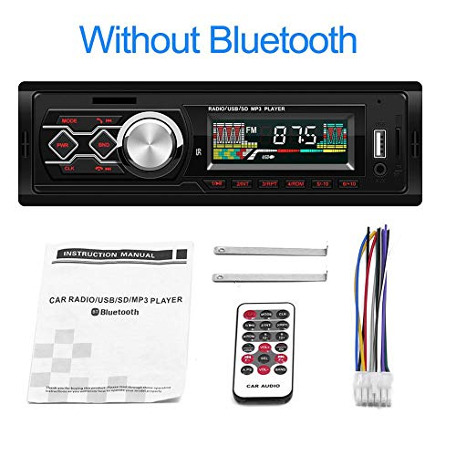 New-look 1-DIN 12V Car Radio Audio Stereo MP3 Players CD Player Support USB SD Mp3 Player AUX DVD VCD CD Player with Remote Control